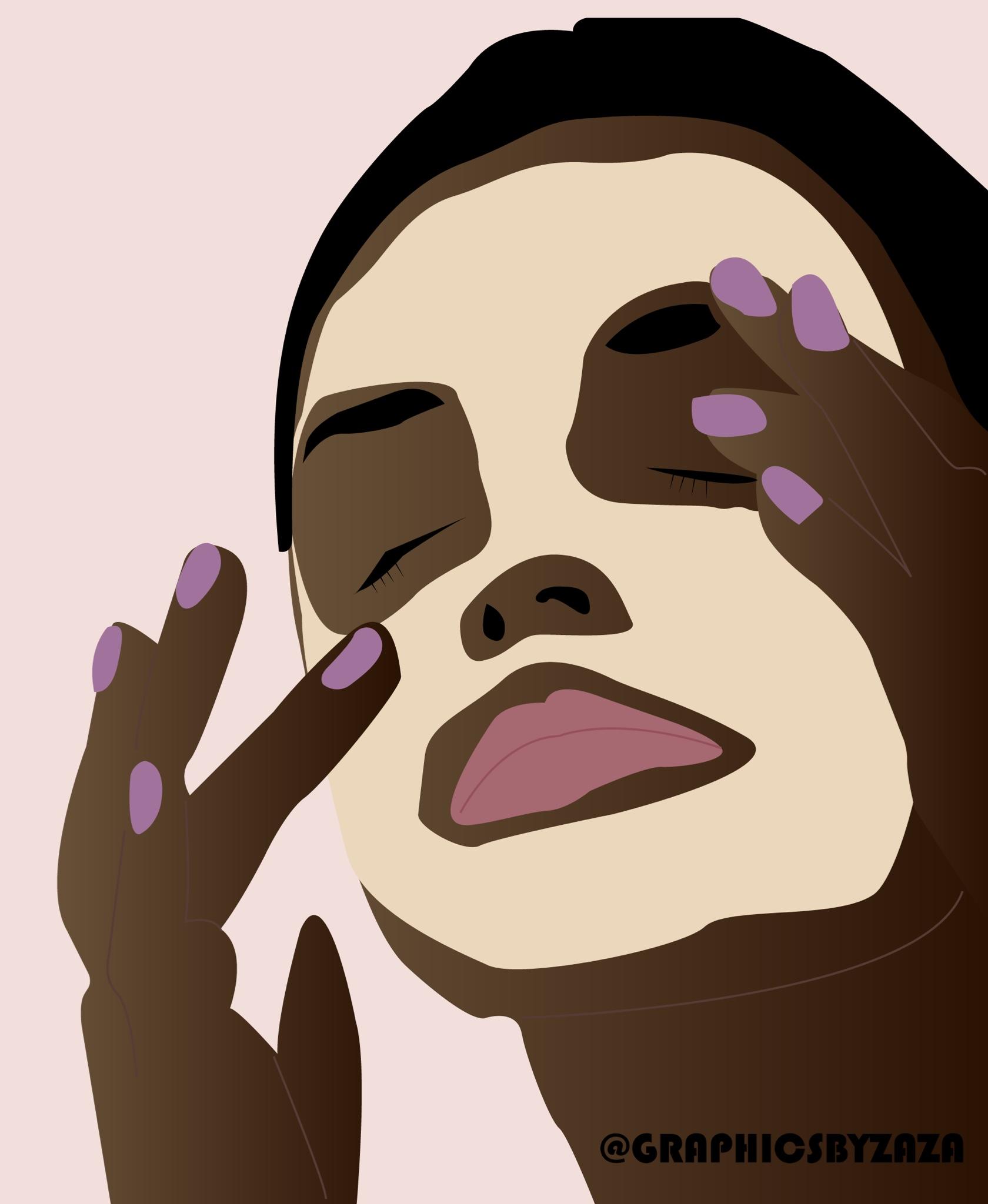 skincare graphic